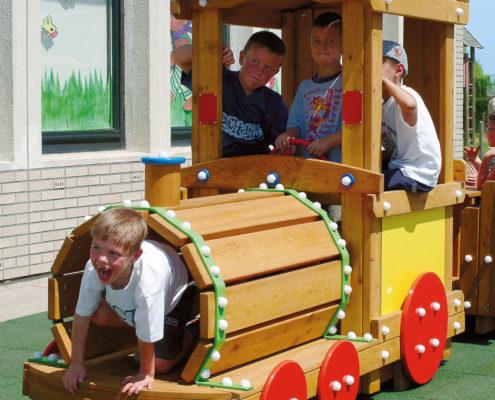 Außenspielgerät Lokomotive