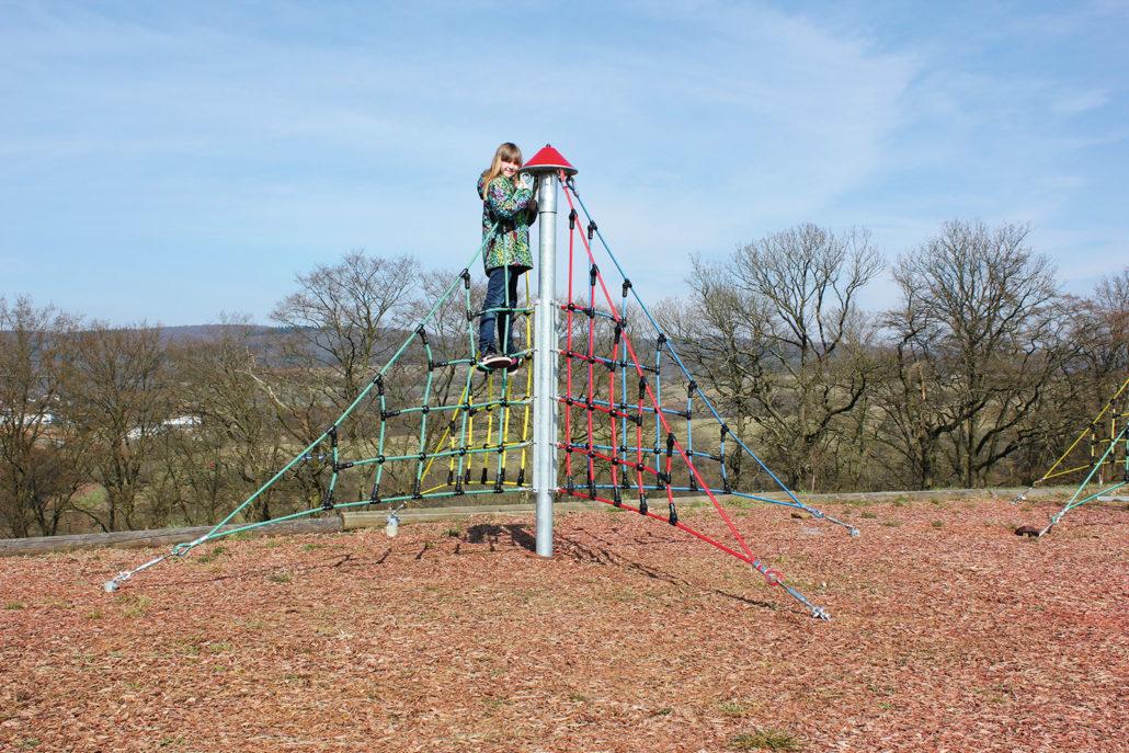 Klettergerüst Pyramide : X pyramide midi crea play