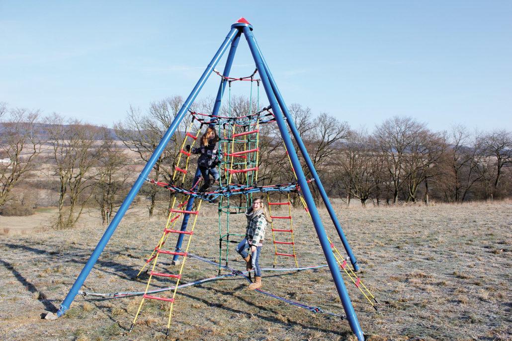 Klettergerüst Pyramide : Kletter wigwam midi crea play